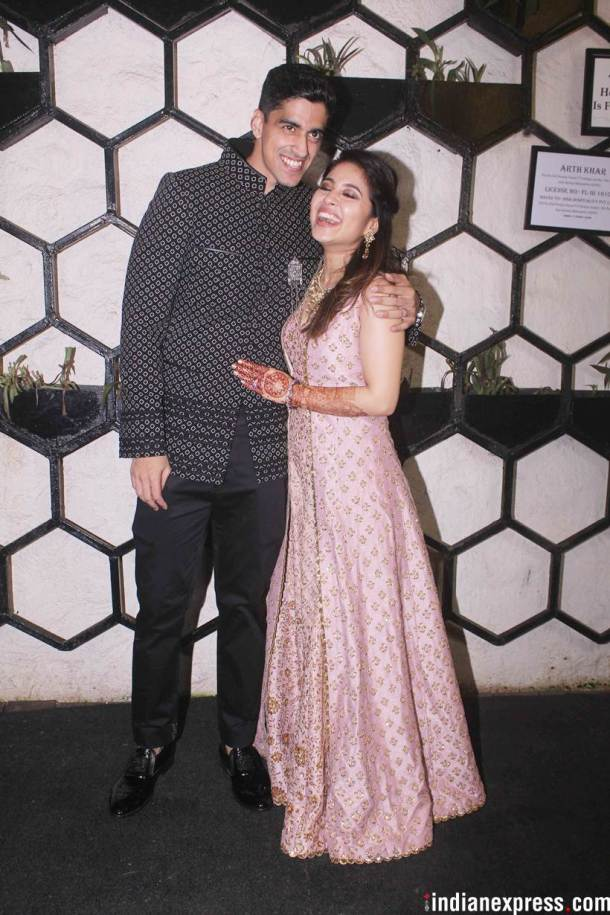 Shweta Tripathi and Chaitanya Sharma photos