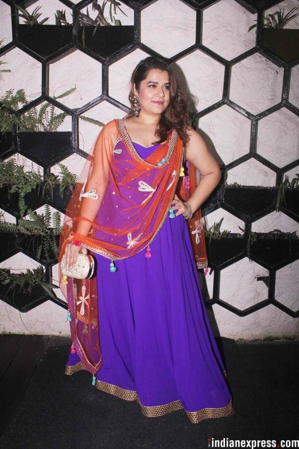 shikha talsania at Shweta Tripathi and Chaitanya Sharma wedding