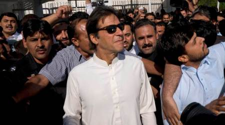 Imran Khan blames Nawaz Sharif for four-fold rise in Pakistan's debts