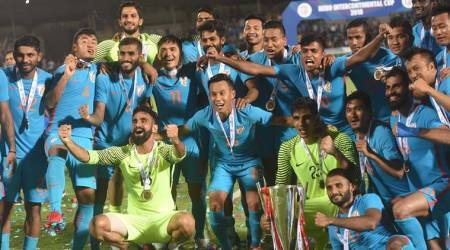 Brace for Sunil Chhetri as India beat Kenya to be crowned Intercontinental Cup champions