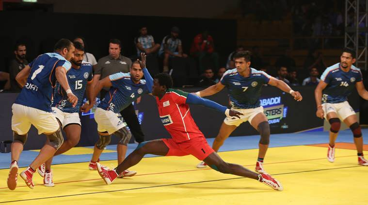 Kabaddi Masters Dubai 2018: India humble Kenya 48-19, win second consecutive match