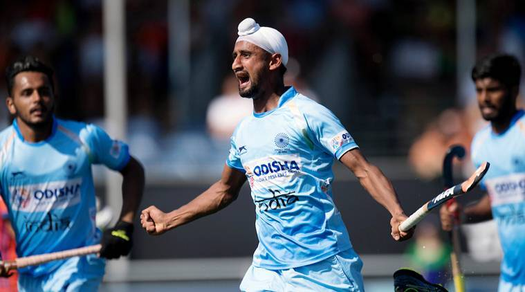 India vs Netherlands, Champions Trophy, Champions Trophy news, Champions Trophy updates, Champions Trophy results, sports news, hockey, Indian Express