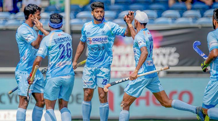 India vs Netherlands, Champions Trophy, Champions Trophy updates, India Champions Trophy, sports news, hockey, Indian Express