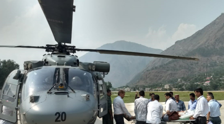 Himachal: Vehicle carrying Israelis falls into gorge, IAF comes to rescue