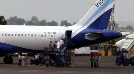Anti-collision alarms sounded as two IndiGo aircraft come close to colliding mid-air