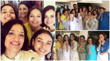 Inside Shabana Azmi's Eid party: Shilpa Shetty, Dia Mirza, Anil Kapoor and Aditi Rao Hydari in attendance