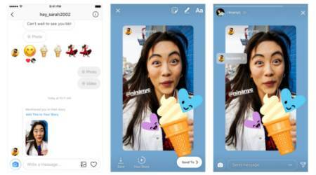 Instagram users can now reshare Stories in which they arementioned