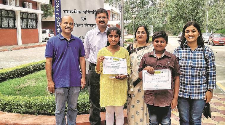 For two PMC school students, a chance to work with scientists, chase their dreams