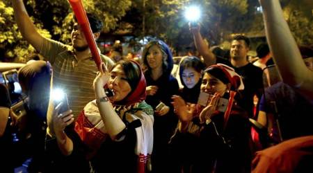 FIFA World Cup 2018: Women allowed to attend Iran vs Spain football screening in Tehran stadium