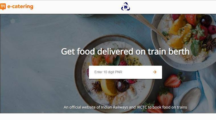 IRCTC, IRCTC eCatering facility, IRCTC food delivery, IRCTC online food delivery, indian railways