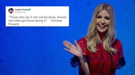 Ivanka's 'Chinese proverb tweet' turns out to be fake; Netizens go to town with hilarious retorts