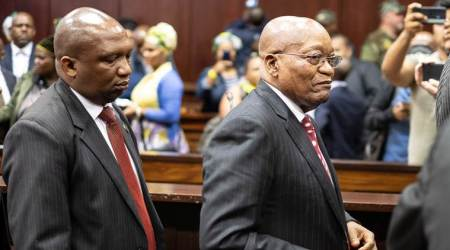 South Africa's Zuma makes second court appearance on corruption charges