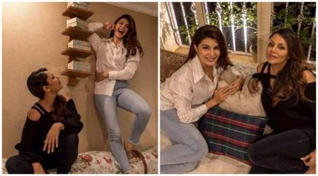 Jacqueline Fernandez apartment inside photos Gauri Khan