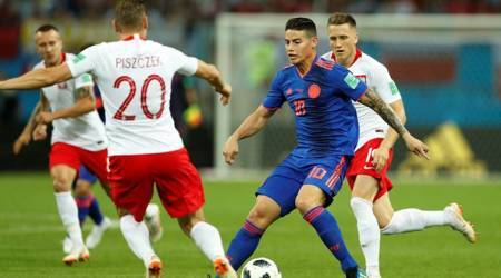Poland vs Colombia Live Score, FIFA World Cup 2018 Live Streaming: Poland 0-1 Colombia in first half