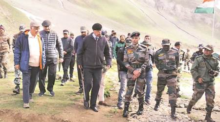 Amarnath Yatra: Army chief reviews J&K security