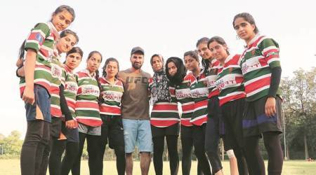 J&K Women's Rugby Team: A coach cheers up team after loss, got own ground just six months ago