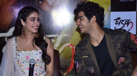 Janhvi Kapoor and Ishaan Khatter were a sight for sore eyes during Dhadak promotions in Jaipur