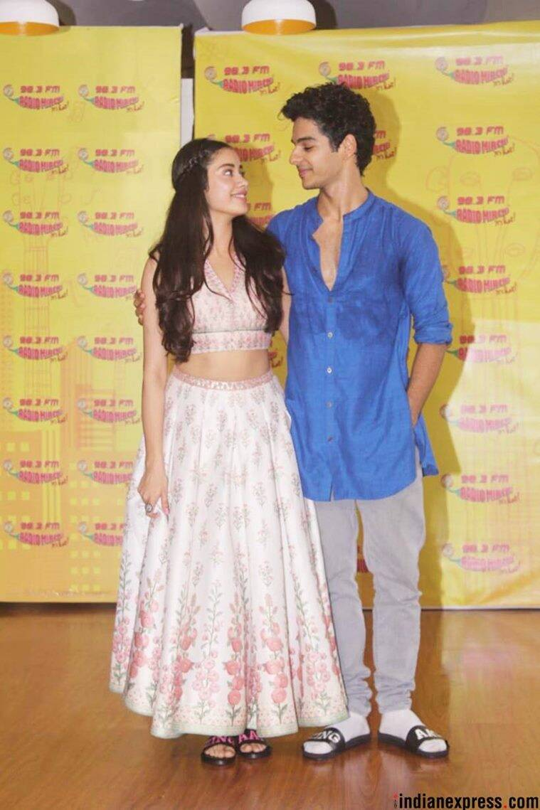 Dhadak promotions, Janhvi Kapoor Dhadak promotions, Janhvi Kapoor white lehenga, Janhvi Kapoor latest news, Janhvi Kapoor ethnic style, Janhvi Kapoor latest photos, Janhvi Kapoor updates, indian express, indian express news