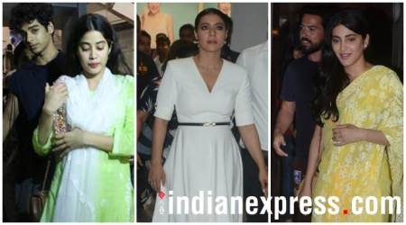 Celeb spotting: Janhvi Kapoor, Kajol, Shruti Hassan and others