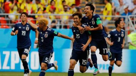 FIFA World Cup 2018: Japan seize on Colombia's setback to press home attackingadvantage
