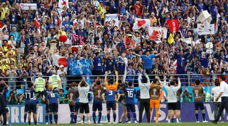 FIFA World Cup 2018: Japan sink 10-man Colombia in historic win for Asia