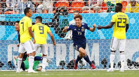 Japan's FIFA World Cup 2018 win over Colombia lifts mood after quake