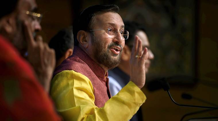 Congress has double standards on women's Bill: Prakash Javadekar