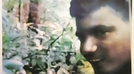 Photo of one of the suspects released by Khunti police.