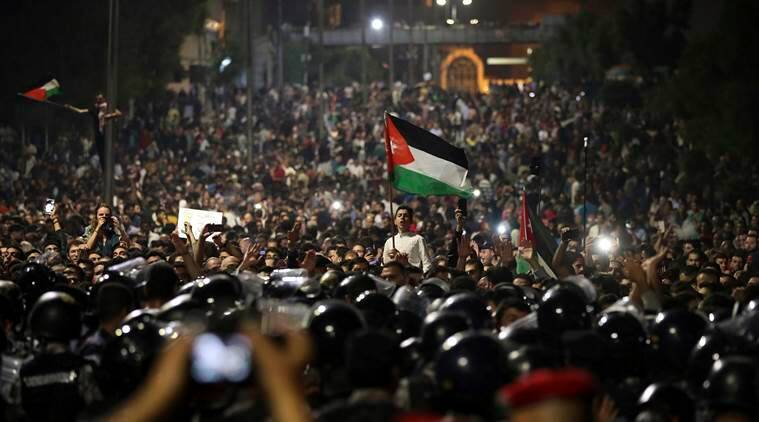 Amid protests, Jordan's King Abdullah expected to ask PM Hani Mulki to resign - sources