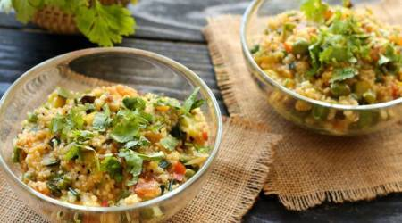 Express Recipes: Cook this Jowar Daliya Upma for a nutritious start to the day