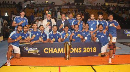 Kabaddi Masters Dubai: Specialists India see off spirited Iran to win title