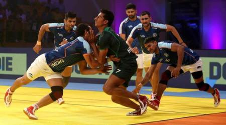 India vs Pakistan Kabaddi Masters Dubai Highlights: India beat Pakistan 41-17