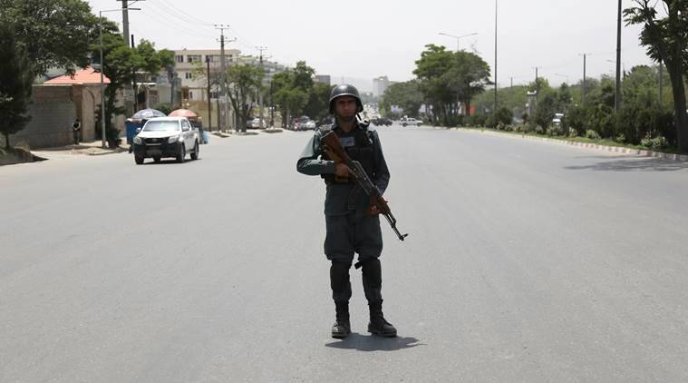 A suicide bombing targeted a gathering of Afghanistan's top clerics on Monday in Kabul killing at least seven people and wounding