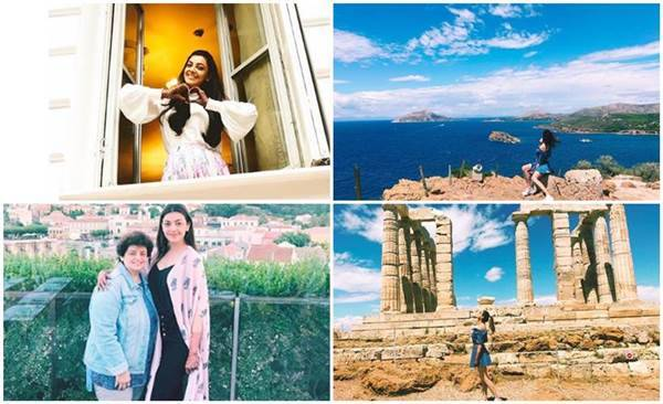 Kajal Aggarwal vacation photos