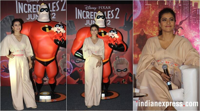 kajol to voice elastigirl in disney and pixar in incredibles 2