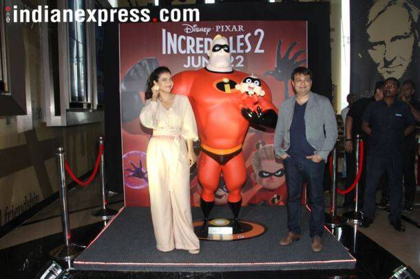 kajol on playing elastigirl