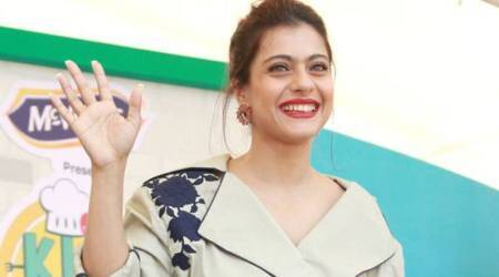Kajol suffers a minor fall during a public appearance