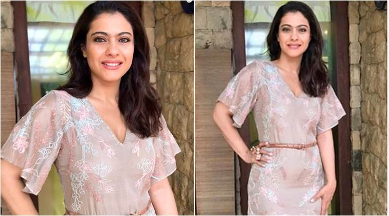 Kajol's Anita Dongre sheer dress is perfect for a monsoon brunch