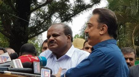 Cauvery row: Kumaraswamy bats for amicable solution amid protests over Kaala, Prakash Raj says it's wrong to target film