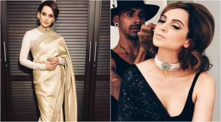 Kangana Ranaut, Kangana Ranaut Sabyasachi sari, Kangana Ranaut Vogue wedding show, Kangana Ranaut latest photos, Kangana Ranaut fashion, Kangana Ranaut Vogue wedding show face, indian express, indian express news