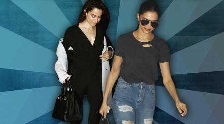 Deepika Padukone and Kangana Ranaut show chic ways to incorporate black in your travel style