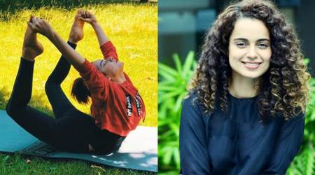 Kangana Ranaut is celebrating International Yoga Day in London
