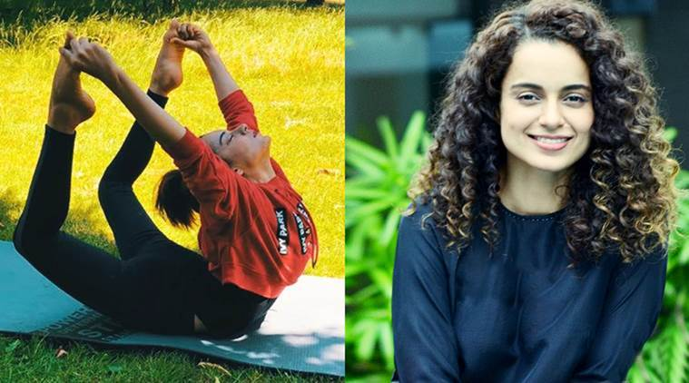 kangana ranaut, physical fitness, mental strength, pushing boundaries, push-ups, box jumps, handstands, kick-boxing, Indian Express, Indian Express News