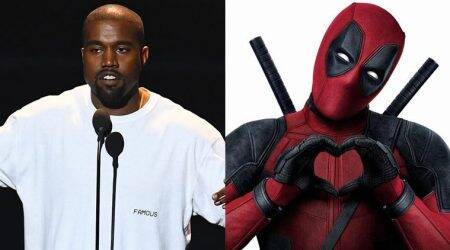 Kanye West gets the Deadpool treatment