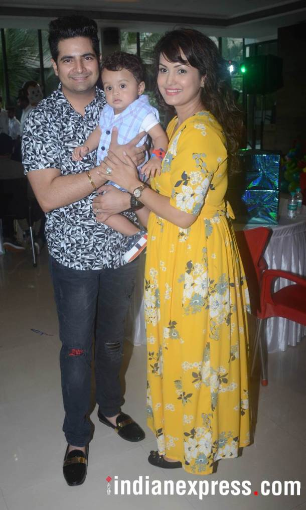 Karan Mehra and Nisha Rawal kid