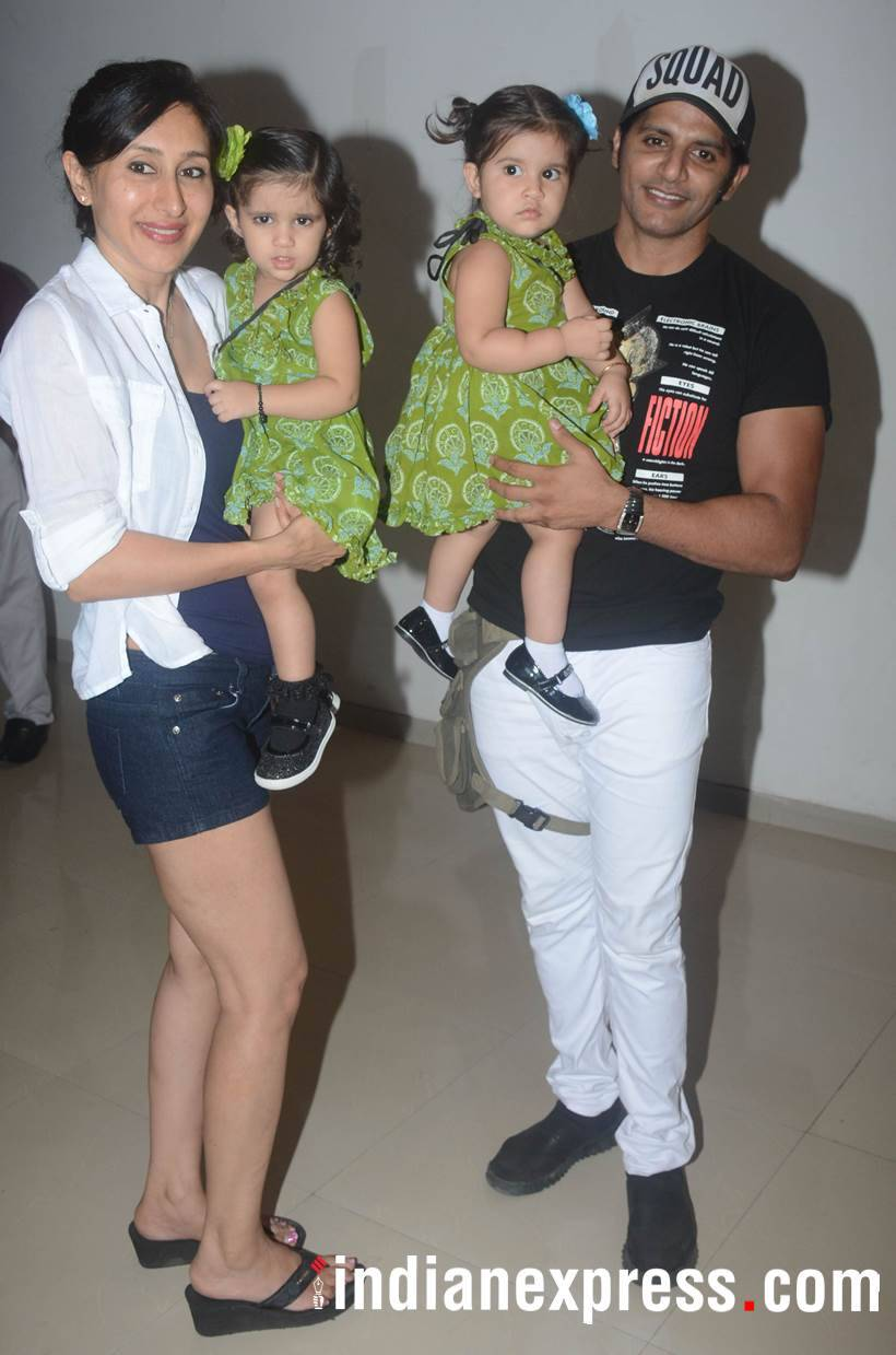 Karanvir Bohra and Teejay Sidhu's twins Bella and Vienna