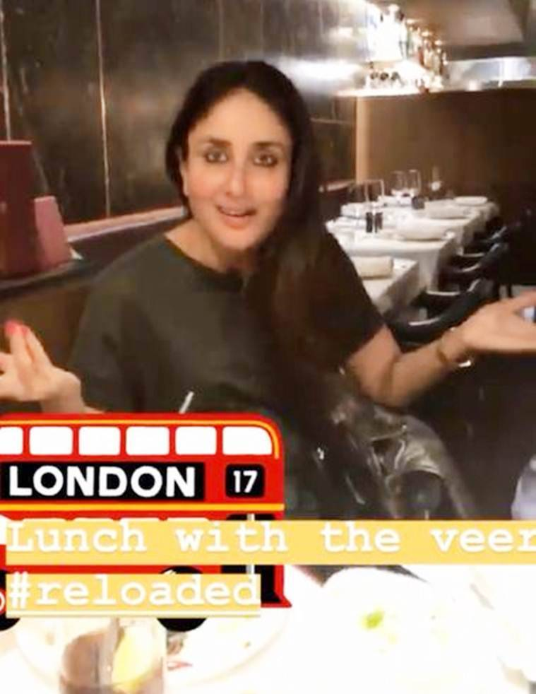 kareena kapoor and rhea kapoor in london