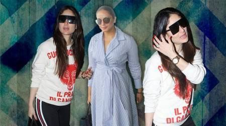 #Airportstyle: Kareena Kapoor Khan, Huma Qureshi keep it REALLY simple