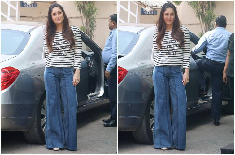 dual toned jeans, multiple toned jeans, Priyanka Chopra, Kareena Kapoor Khan, Janhvi Kapoor, Sonakshi Sinha, celeb fashion, bollywood fashion, indian express, indian express news