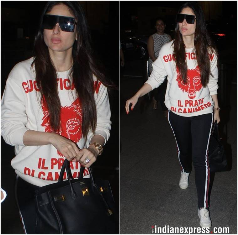 airport fashion, airport style, Kangana Ranaut, Deepika Padukone, Kareena Kapoor Khan, Huma Qureshi, Anushka Sharma, Taapsee Pannu, Sonakshi Sinha, celeb fashion, bollywood fashion, indian express, indian express news